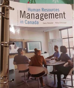 $45 Human Resources Management in Canada 13th ed.