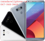 LG G6 Brand new canadacellphone.ca  647-948-9460