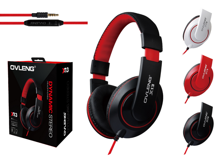 X13 Stereo Headset 3 colors