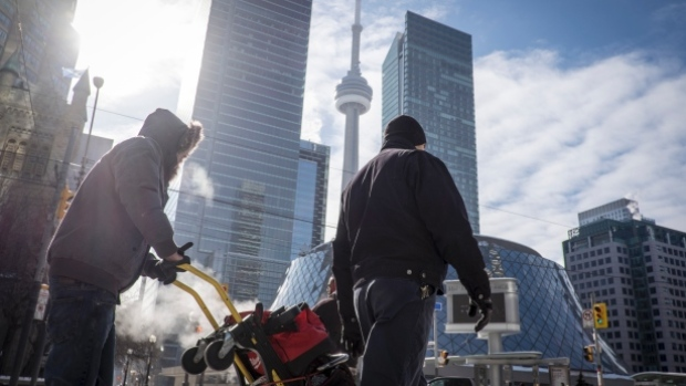 Environment Canada issued an extreme cold warning in the GTA on Wednesday as a wind chill value of -30 makes it feel much colder.