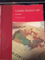 seneca/humber college Canadian Business law 2nd ed