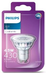 LED 4.5W GU10 Spotlight bulb