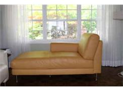 Ikea Leather Left-hand chaise